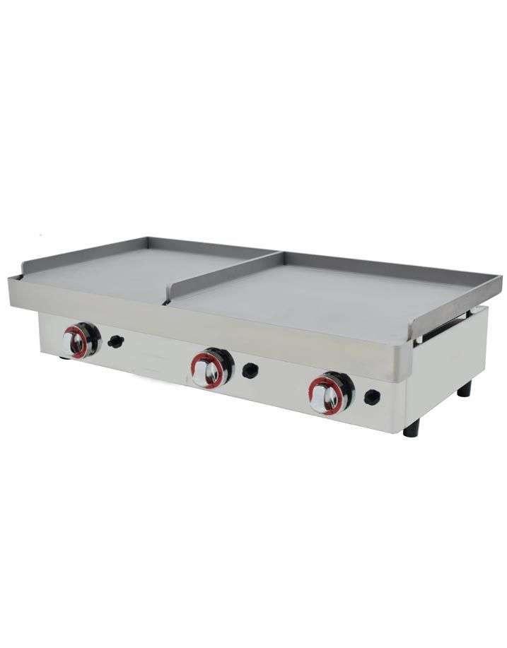 Plancha de gas duo acero laminado 6 mm pgdal 6060 arx for Plancha de gas butano
