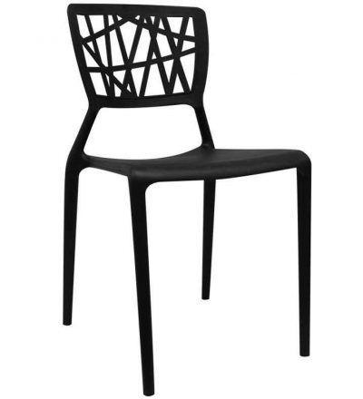 Silla diseño DELTA color negro
