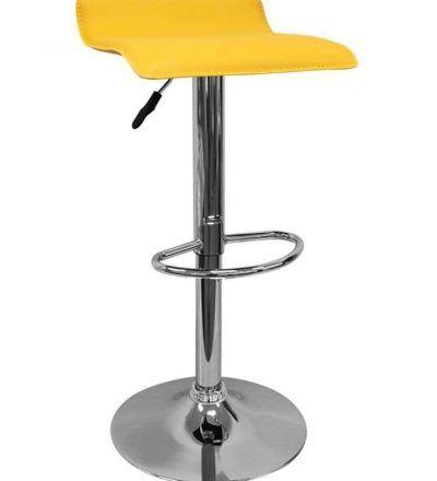 Taburete diseño TIM color amarillo