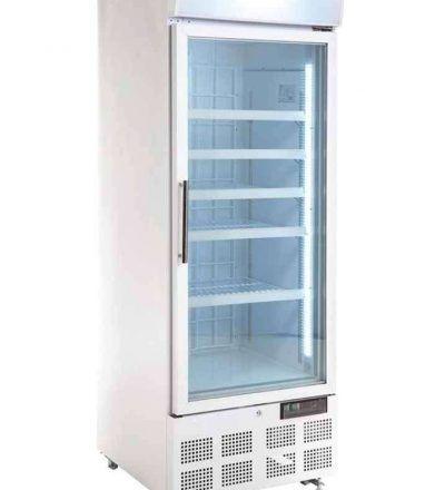 Vitrina congeladora puerta de vidrio 412 litros