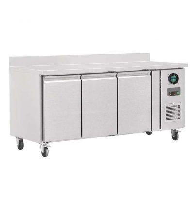 Mostrador congelador con peto y 3 puertas fondo 700 MM