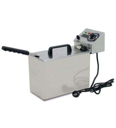 Freidora eléctrica sin grifo para vaciado 5L