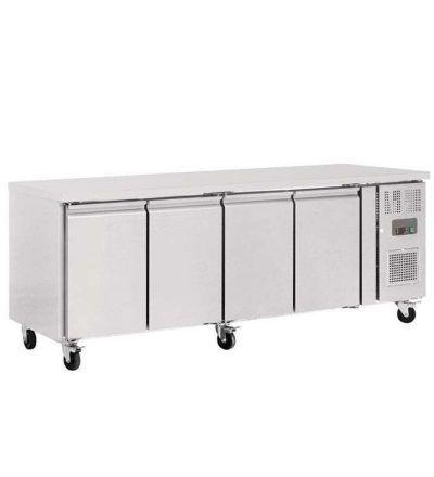 Mostrador frigorífico fondo 600  4 puertas