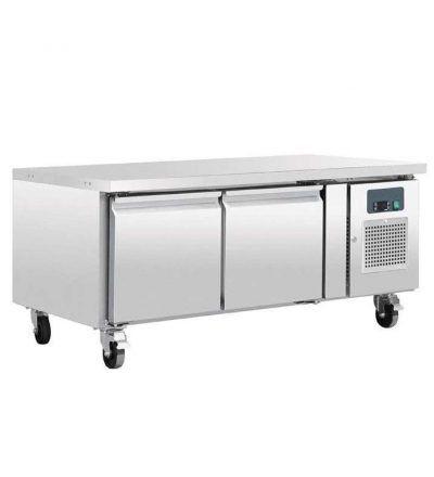 Mostrador frigorífico chef bases gastronorm 2 puertas   214 L
