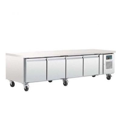 Mostrador frigorífico chef bases gastronorm 4 puertas   420 L