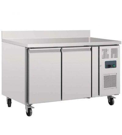 Mostrador frigorifico con peto y 2 puertas fondo 700 MM
