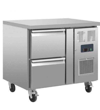 Mostrador frigorífico dos cajones   124 L