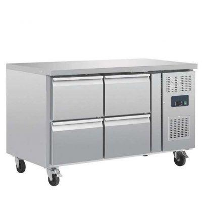 Mostrador frigorífico 4 cajones 314 L