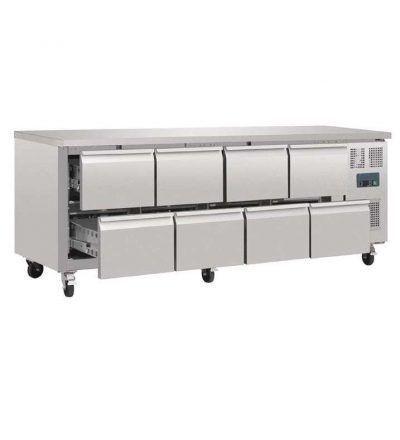 Mostrador frigorífico 8 cajones 616 L