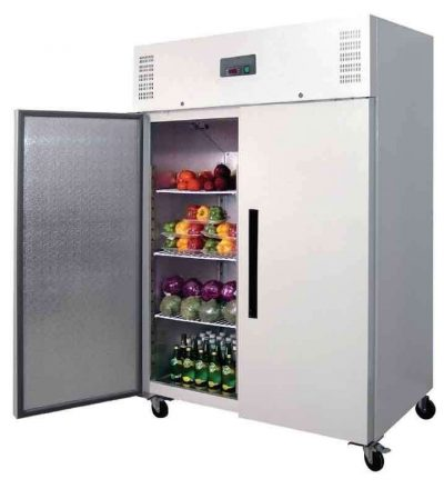 Armario frigorifico puerta maciza blanca 1200 L