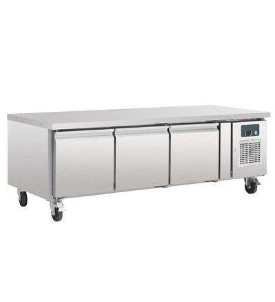 Mostrador frigorífico chef bases gastronorm 3 puertas   317 L