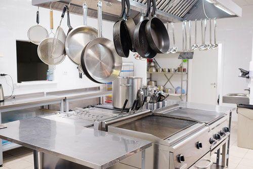 cocina bien organizada 1 - La cocina para restaurante: Cómo distribuirla