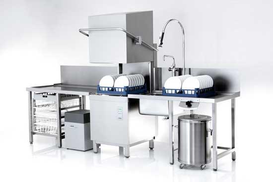 zona lavado - La cocina para restaurante: Cómo distribuirla