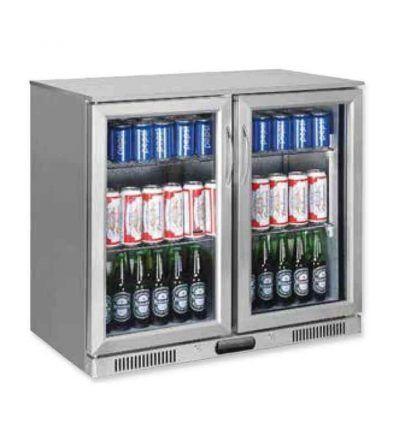 Expositor refrigerado vertical   228 L   ERV-EV250INOX-MAS