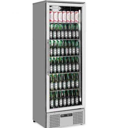 Expositor refrigerado vertical  293 L   ERV-EV300INOX-MAS
