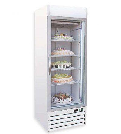 Armario expositor congelador estatico 412 L AECE-ECS500-MAS