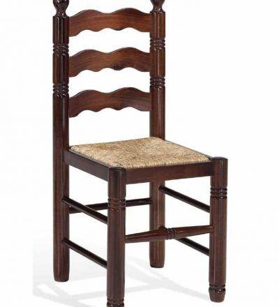 Silla madera rustica SMR-119-TAM