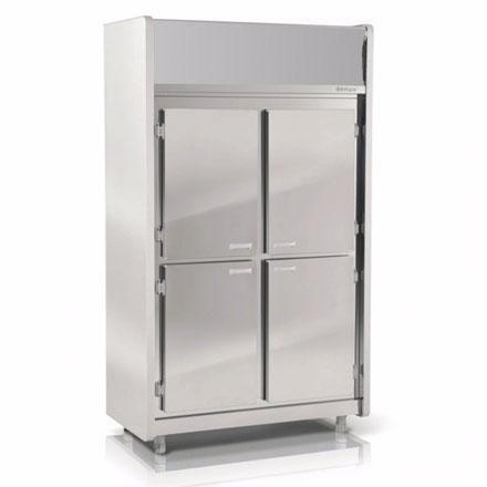 congelador - Congelador vertical puerta curvada CVPC-CV130L-MAS
