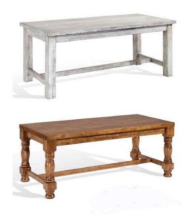 Mesa madera bodega maciza
