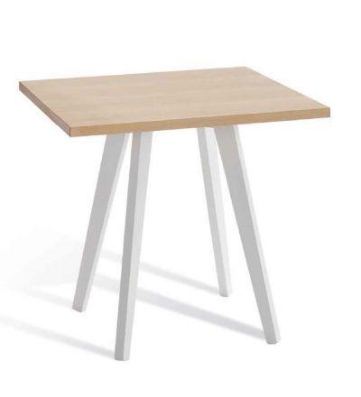 Mesa madera burdeos