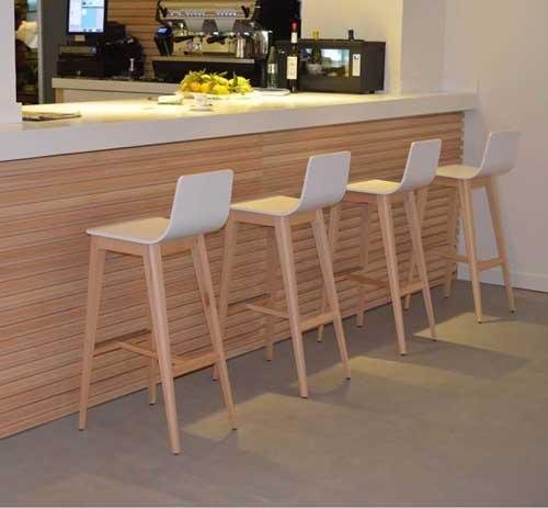 taburetes madera - Taburete madera ULISES