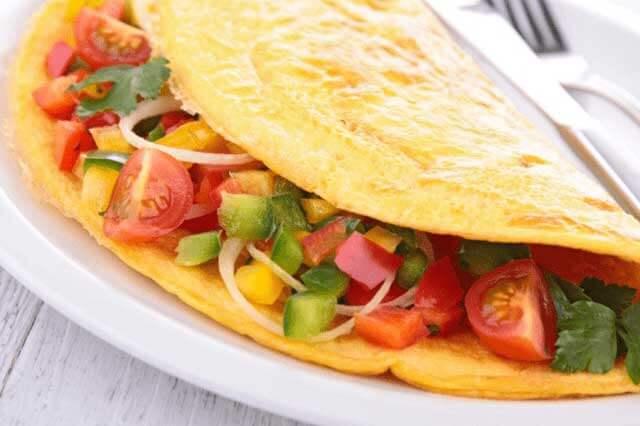 ommelette a la mexicana - Recetas de cocina mexicana fáciles de hacer
