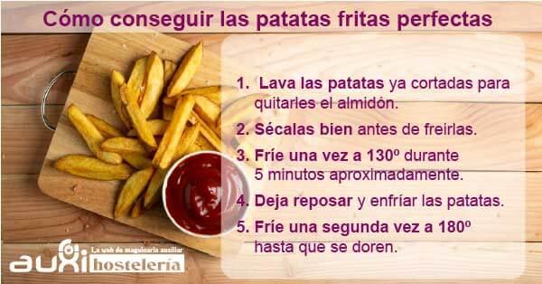 conseguir las patatas fritas perfectas