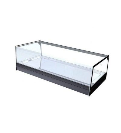 vitrina neutra cristal plano