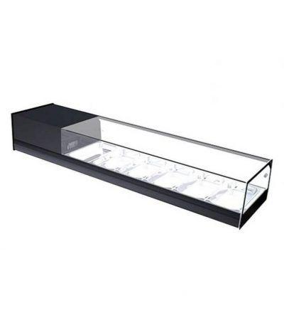 Vitrina refrigerada cristal plano 1146mm 4 bandejas