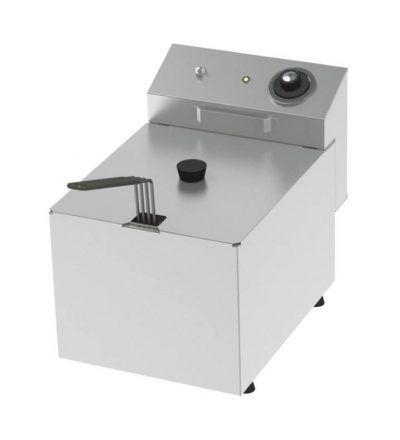 Freidora eléctrica una cuba 8 litros y 3,8 KW