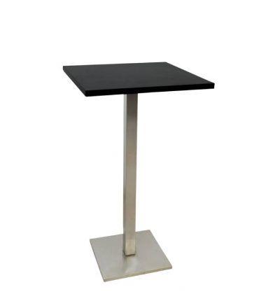 Mesa alta cuadrada TURIN 60×60