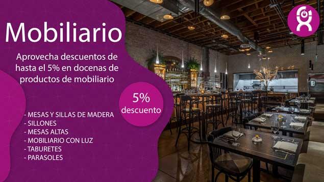 OFERTAS MOBILIARIO - Home Auxihosteleria-Maquinaria de hostelería