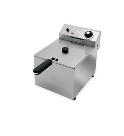 Freidora eléctrica una cuba 6 litros y 3 KW