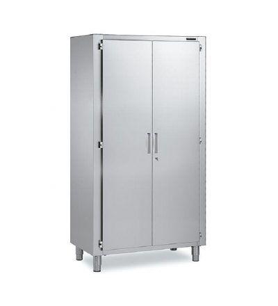 Armario Doble puertas batientes 400x440 - Maquinaria hosteleria ocasion: Muebles de acero