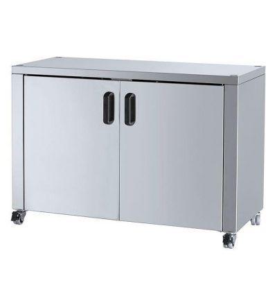 Mueble Soporte Asador  con ruedas 1100×450