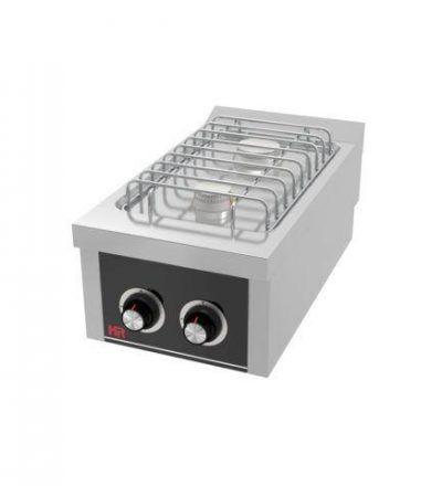 Cocina a Gas Sobremesa 2 Fuegos EC 400×750