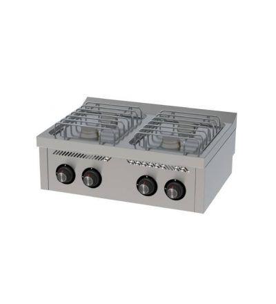 Cocina a Gas Sobremesa 4 Fuegos 800×600 ECO