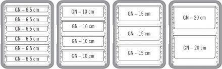 Isotérmico Carga Frontal GN1/1 86 Lt
