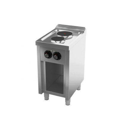 Cocina Electrica 2 placas 400×600 ECO