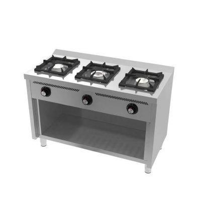 Cocina a Gas 3 Fuegos 1200×600