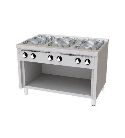 Cocina a Gas 6 Fuegos EC 1200×750