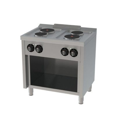 Cocina Electrica 4 placas 800×600 ECO