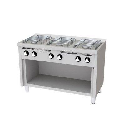 Cocina a Gas 6 Fuegos 1200×600 ECO