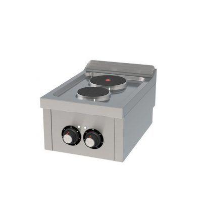 Cocina Electrica Sobremesa 2 placas 400×600 ECO