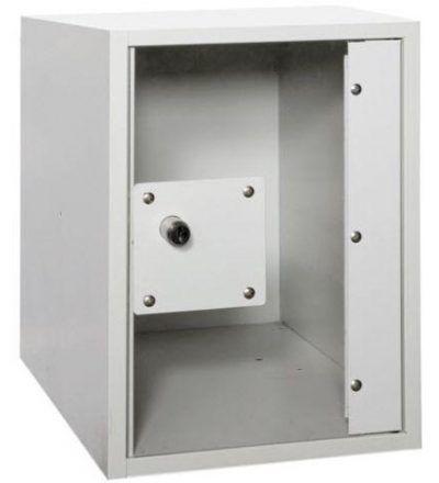 Consigna met%C3%A1lica soldada con puerta de metacrilato CSVS1PME 400x440 - Maquinaria hostelería ocasión