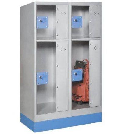 Consigna monoblok met%C3%A1lica soldada con puerta metacrilato CM2P1200 D 400x440 - Maquinaria hostelería ocasión