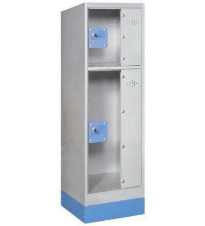 Consigna monoblok met%C3%A1lica soldada con puerta metacrilato CM2P1200 S 400x440 - Maquinaria hostelería ocasión