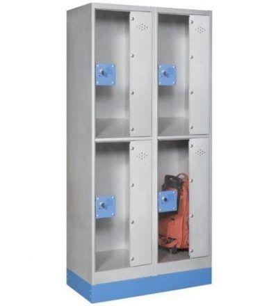Consigna monoblok met%C3%A1lica soldada con puerta metacrilato CM2P1600 D 400x440 - Maquinaria hostelería ocasión