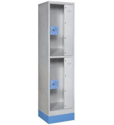 Consigna monoblok met%C3%A1lica soldada con puerta metacrilato CM2P1600 S 400x440 - Maquinaria hostelería ocasión