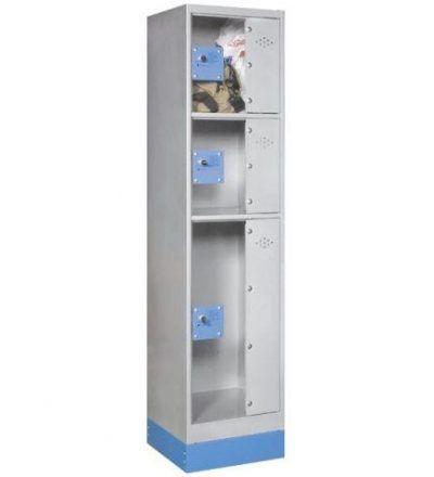 Consigna monoblok met%C3%A1lica soldada con puerta metacrilato CM3P1600 S 400x440 - Maquinaria hostelería ocasión